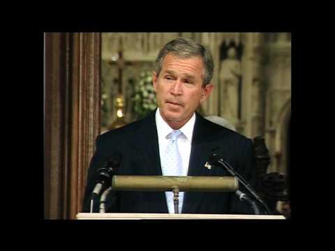 Emotional 911 Cathedral Speech - President Bush