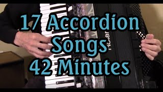 17 Accordion Songs, 42 Minutes, Dale Mathis