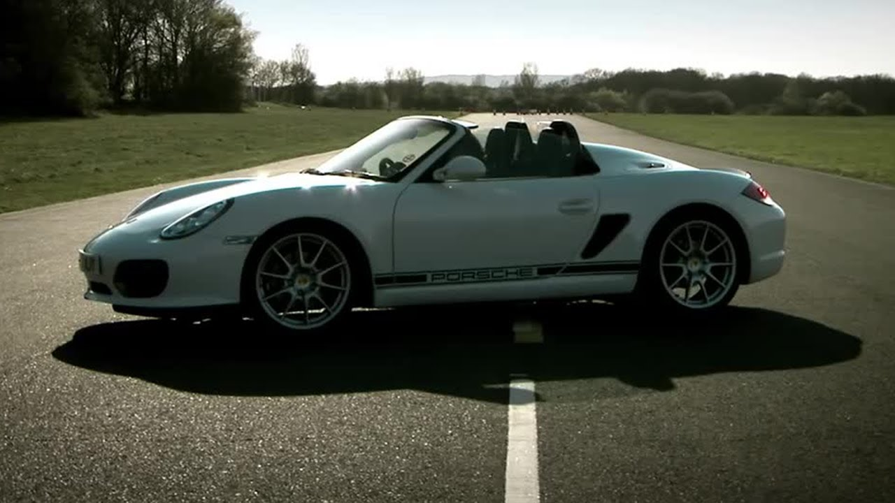 Porsche Boxster Spyder Review Bbc Youtube