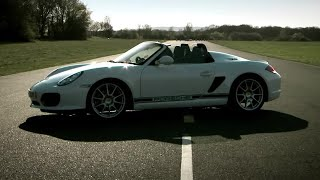 Porsche Boxster Spyder | Car Review | Top Gear