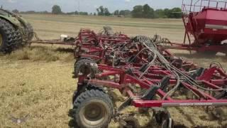Garnett Farms Wheat Harvest & Bean Planting [1080p 60fps]