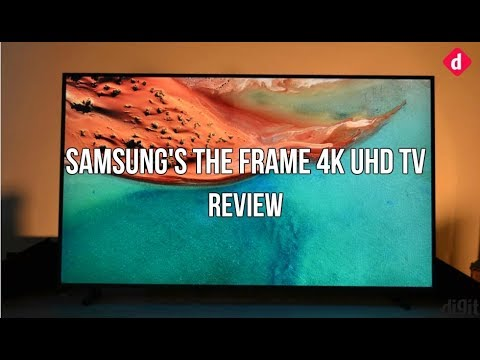 Samsungs The Frame 4k Uhd Smart Tv Review Digit Youtube