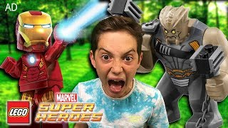 LEGO Marvel Super Heroes! – NEW EPIC Avengers Infinity War sets - Kids unboxing (advertisement)