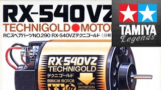 The Tamiya TECHNIGOLD Motor, Was it all that???