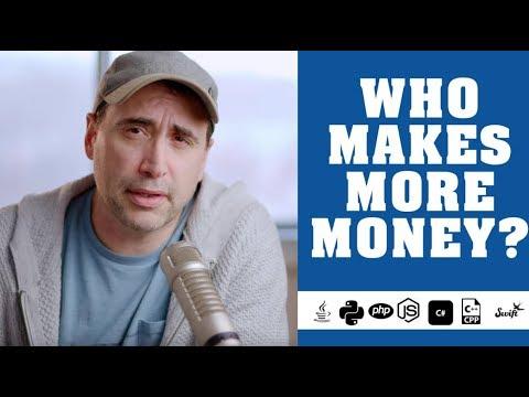 Java, Python, PHP, JavaScript, C++, C# ... WHO MAKES MORE MONEY?