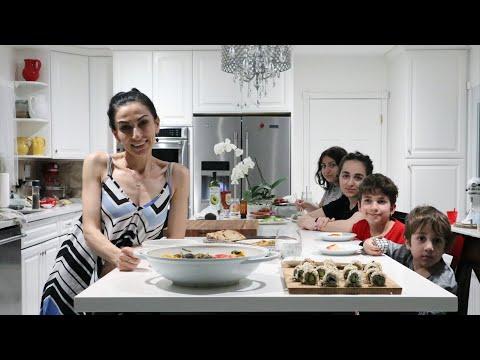 Готовлю Наш Ужин - Роллы - Рагу с Овощами - Шпинат - Рецепт от Эгине - Heghineh Cooking Show