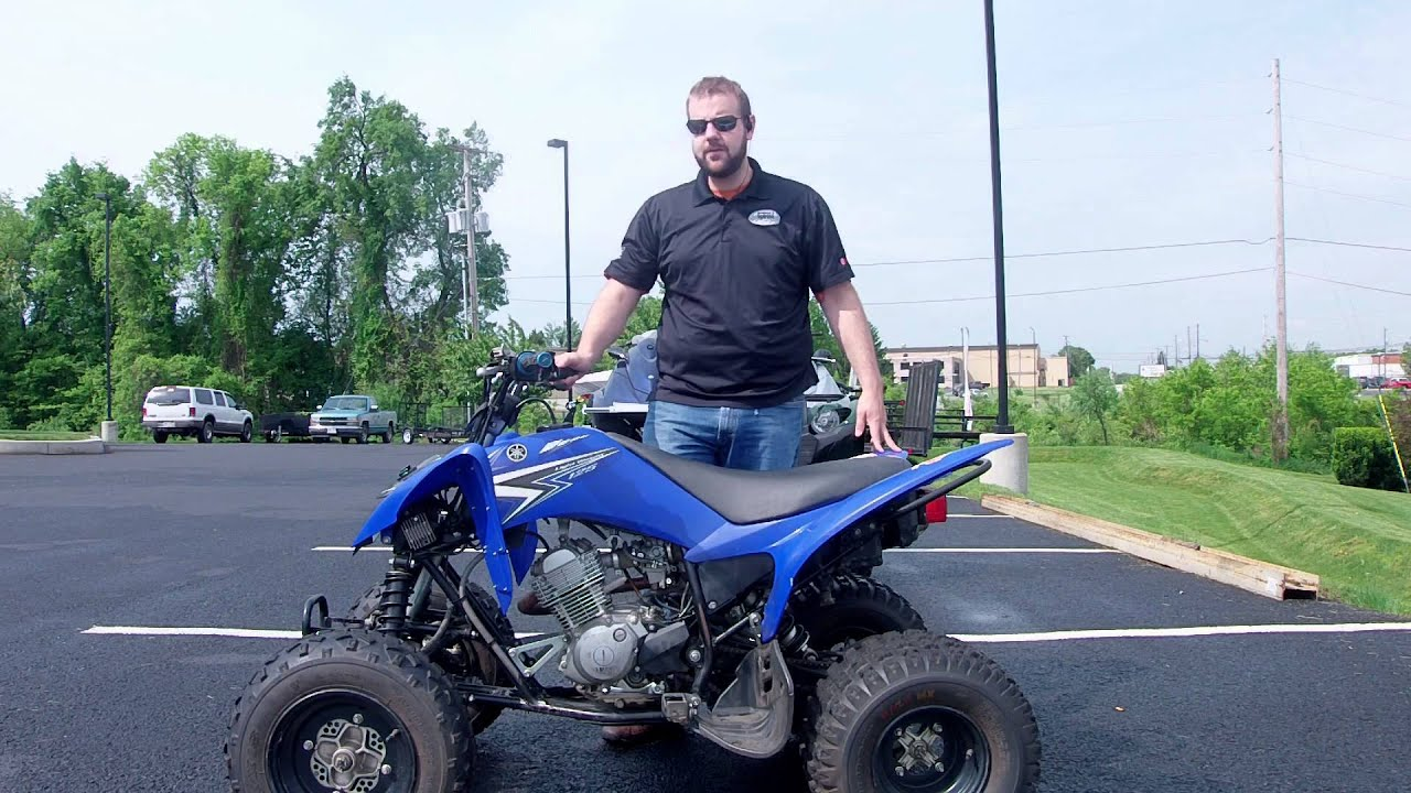 Yamaha Raptor  Four Wheeler
