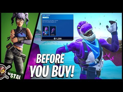 Before You Buy BRONTO And CRYSTAL In Fortnite!