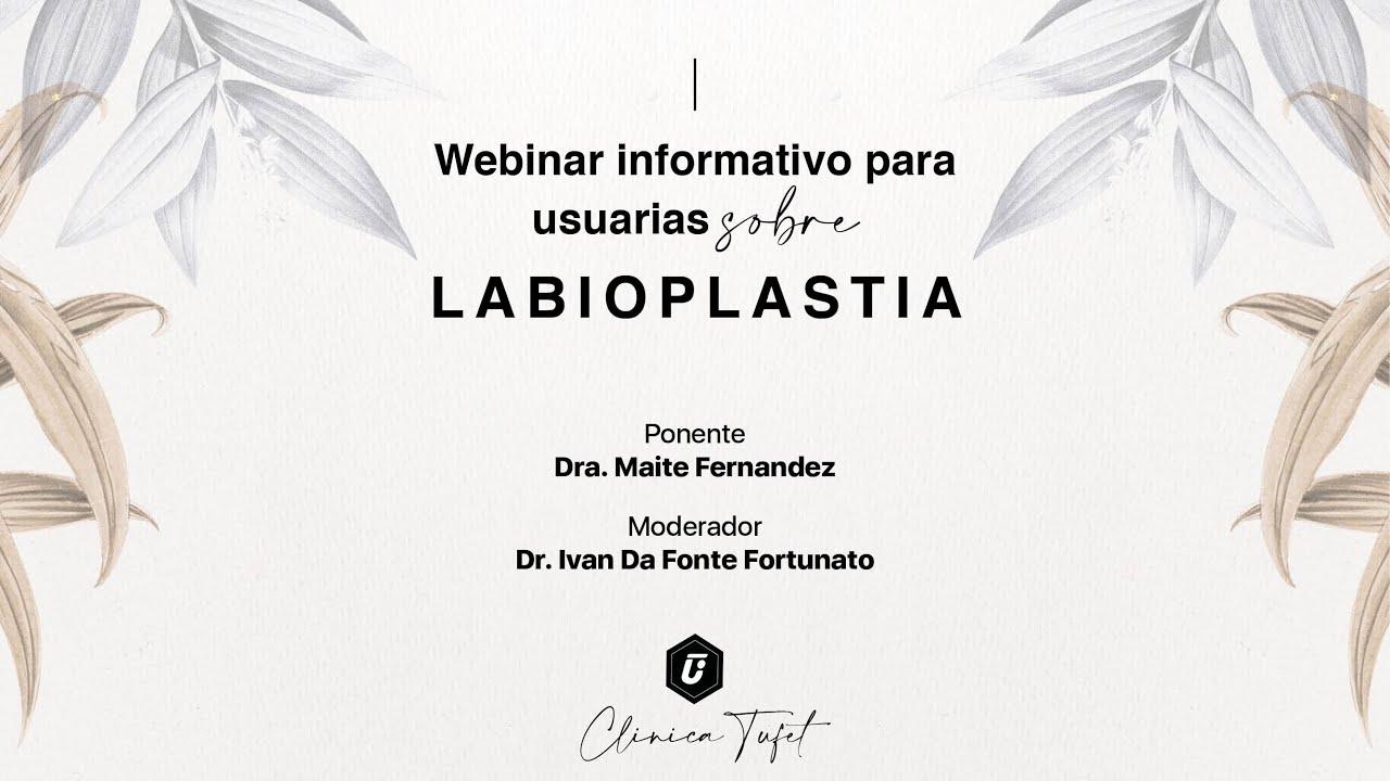 Visita informativa labioplastia Barcelona Dra Maite Fernández