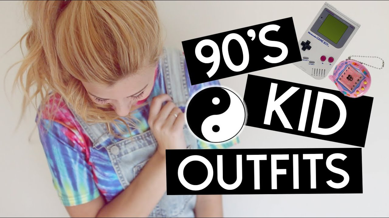 90s kid outfit ideas for halloween youtube - Halloween Youtube Kids