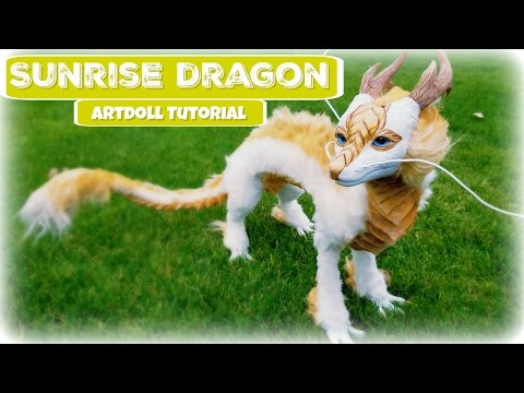 Sunrise Dragon (Diy Art Doll Tutorial)