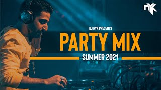 DJ NYK - Summer 2021 Party Mix | Non Stop Bollywood, Punjabi,English Remix Songs| Electronyk Podcast