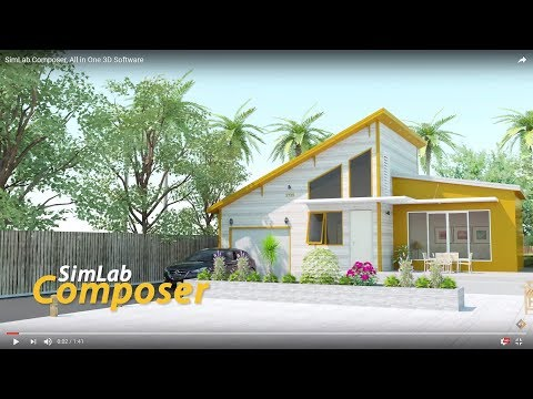 SimLab Composer, All in One 3D Software
