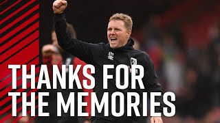 An emotional farewell to Eddie Howe ❤️