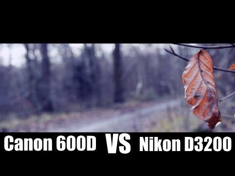 CINEMA STYLE# Canon 600D VS Nikon D3200
