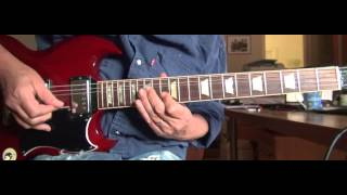 "Mick Taylor guitar lesson ""Driving Sideways"" fast & slow"