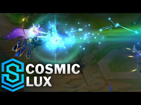 Cosmic Lux Skin Spotlight - League of Legends