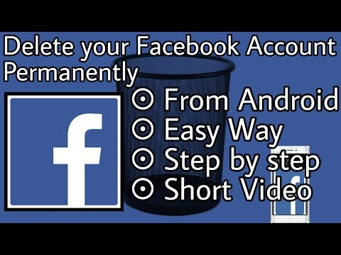 How to delete ur facebook account permanently youtube how to delete facebook account permanently duration 302 raj kushwaha 35016 views 302 ccuart Choice Image