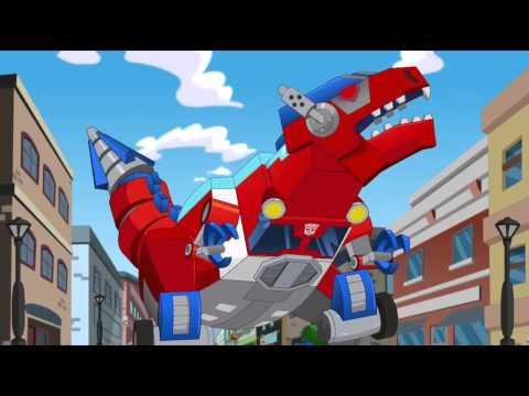 Thumbnail: Transformers Rescue Bots Optimus is Captured