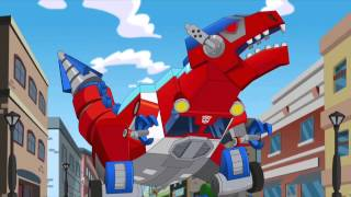 Transformers Rescue Bots Optimus is Captured