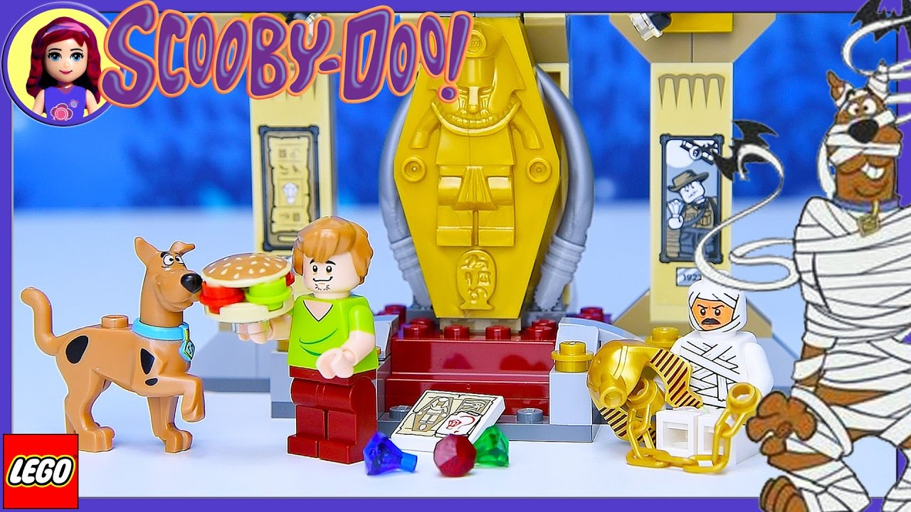Best Scooby Doo Toys For Kids : Lego scooby doo mummy museum mystery build review silly