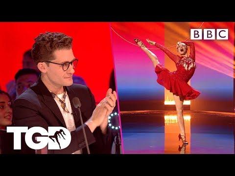 Hannah Puts A Rhythmic Gymnastics Spin On Latin | The Greatest Dancer