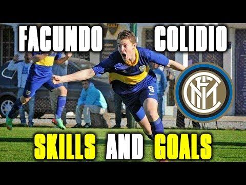 FACUNDO COLIDIO SKILLS AND GOALS   Welcome to Inter!!! Boca wonderboy!