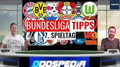 BUNDESLIGA TIPPS #7 - Prognosen und Tipphilfe zum 7. Spieltag der Saison 2019/2020
