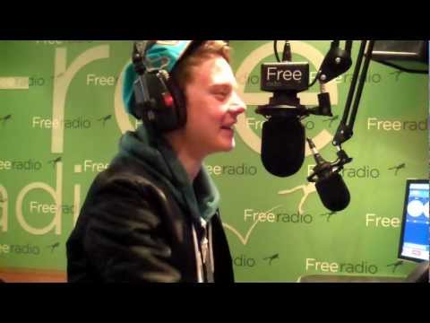 Conor Maynard pops in to Free Radio