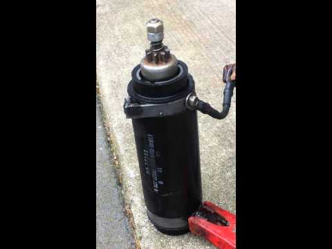 How to Test an Outboard Motor Starter