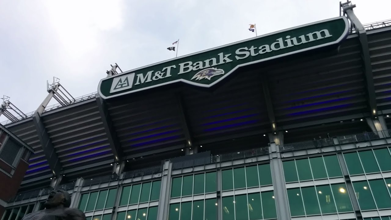game day tour of m t bank stadium baltimore ravens nfl in baltimore maryland youtube. Black Bedroom Furniture Sets. Home Design Ideas