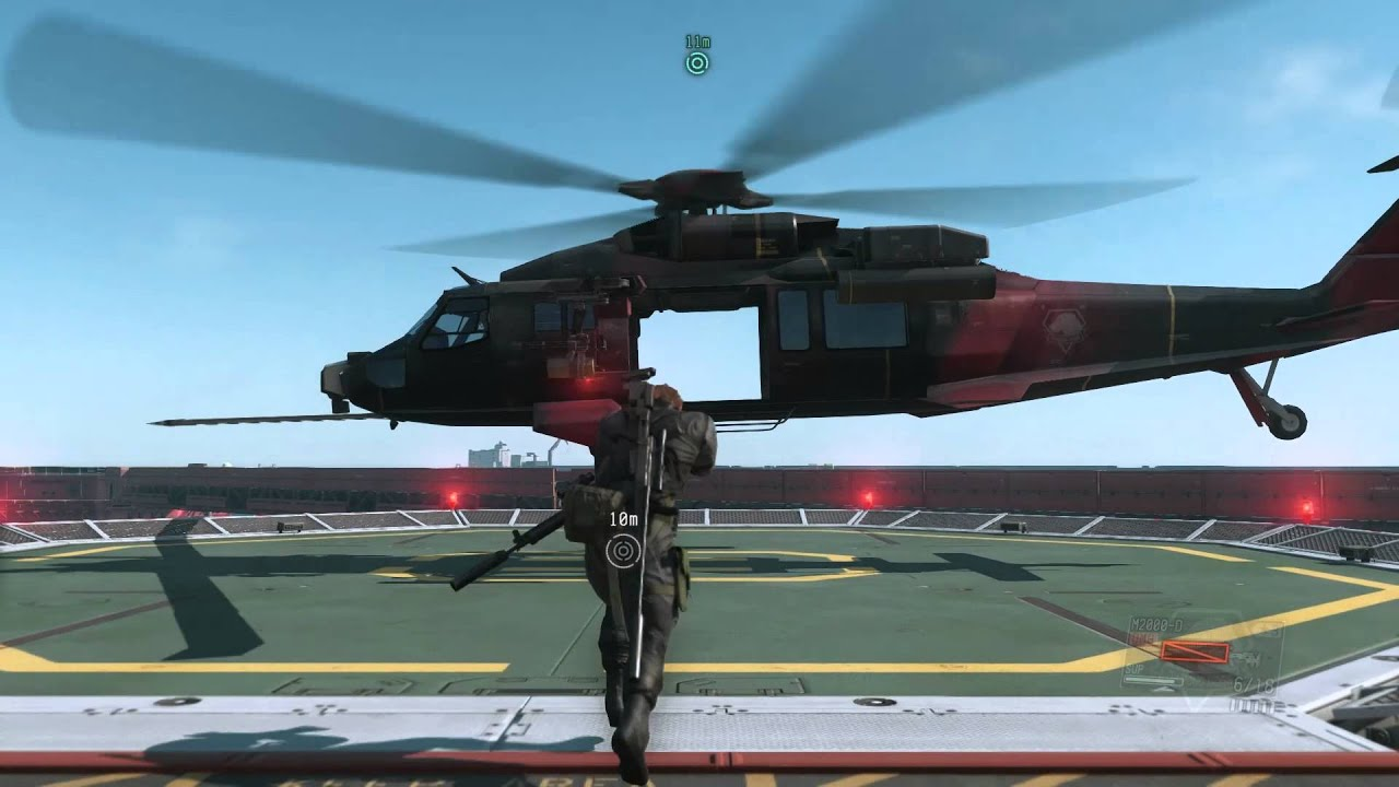 Mgsv Elicottero : Mgsv tpp helicopter music youtube