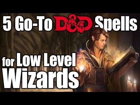 Best Cantrips 5e Wizard