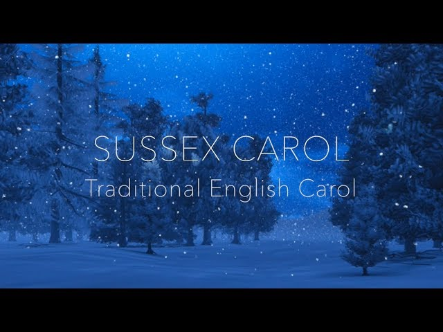 """Sussex Carol"" arr. by Elaine Hagenberg"