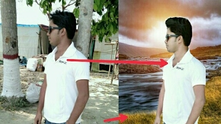 How to change photo Background like a DSLR look, use picsart
