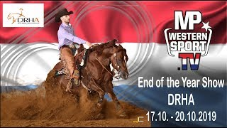 DRHA End of the Year Show 2019  17.-20.10.2019 powered by  Westernsport.TV  Day1
