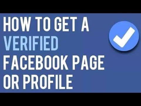 Verify Indian Facebook page