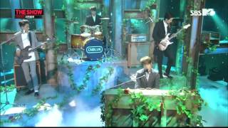 140225 SBSMTV The Show CNBLUE - Diamond Girl+Can't Stop (ComeBack Stage) 1080P