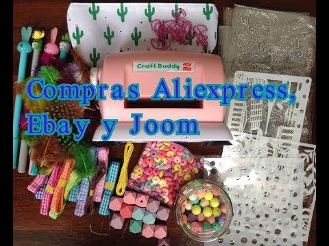 Compras Aliexpress, Ebay y Joom