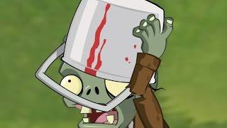 Plants vs Zombies 2 Fan Animation #1 : Buckethead Zombie
