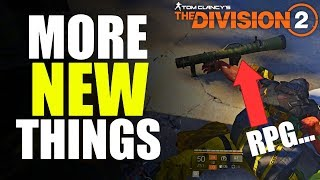 The Division 2 NEWS! SECRET BOSS, NEW UI & APPAREL CHANGES & MORE!