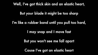 Sia - Elastic Heart (Karaoke - Lyrics) Piano Version