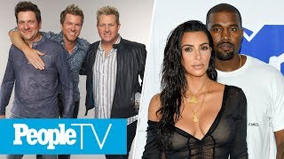 Kanye On Kim Kardashian Meeting Trump, Rascal Flatts Have To End Concert Abruptly | PeopleTV
