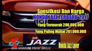 Harga Honda Jazz Terbaru Dan Spesifikasinya 2017