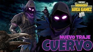 FORTNITE BATTLE ROYALE CHILE - NEW SKIN CROW / DIRECT
