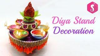 Kalash Diya Stand for Diwali | Deepavali Crafts | Sonali