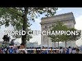 WORLD CUP - Streets of Paris RIGHT NOW - World Cup Champions 2018 - Paris France Nearly-Live-Stream
