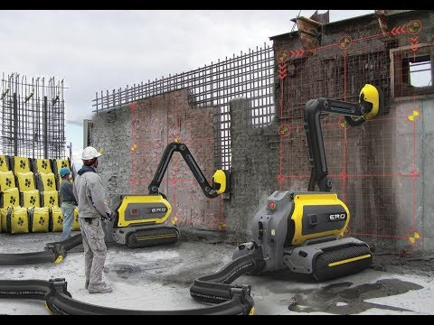 Robotic engineering and construction equipment (heavy machinery)