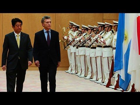 Macri se reunió con el primer ministro de Japón, Shinzo Abe