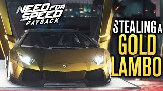 Need for Speed Payback Let's Play | STEALING A GOLD LAMBORGHINI?! | Episode 12